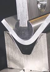 radius bending punch
